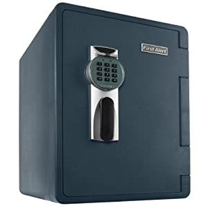 First Alert 2092DF Waterproof and Fire-Resistant Digital Safe