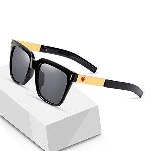 C conducen Sol de Los Gafas de Las Cuadrados Mm Gafas de B de Hombres Marea Personalidad WFL Que Cara Sol de Las la de la w1fq7qxB