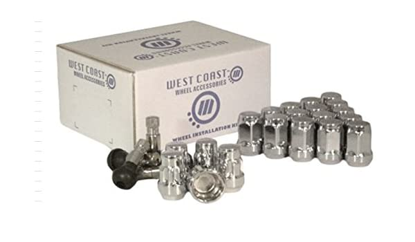 WestCoast Wheel Accessories W54015S Wheel Lug Nut