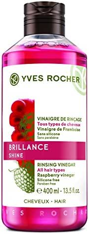 Yves Rocher Rinsing Vinegar Enhances hair's natural shine! Maxi bottle - 400 Ml.