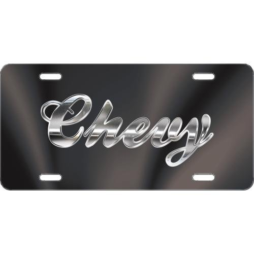 Chroma Graphics 2010 Acrylic Chevy Script Inlay (Chroma License Plate)