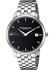 Raymond Weil Toccata Swiss Quartz Stainless Steel Casual Watch, Color Silver-Toned (Model: 5588-ST-20001)