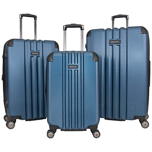Kenneth Cole Reaction Reverb Hardside 8-Wheel 3-Piece Spinner Luggage Set: 20