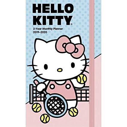Hello Kitty Two-Year Monthly Pocket Planner 2019-2020
