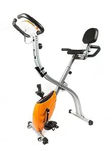 Bodyline bicicleta estática X-Bike Butterfly Pro naranja ...