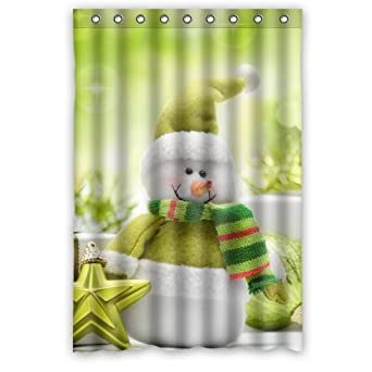 Amazon.com: Retro Hot Holiday Shower Curtain 48