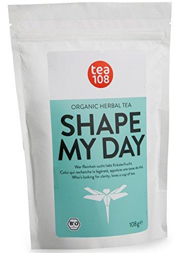SHAPE MY DAY – Slim Body Tea ohne Bitterstoffe als ideale Ergänzung deiner – Detox Tee, Diät und Reinigungskur – 108 Tassen Bio Kräutertee aus Hamburg