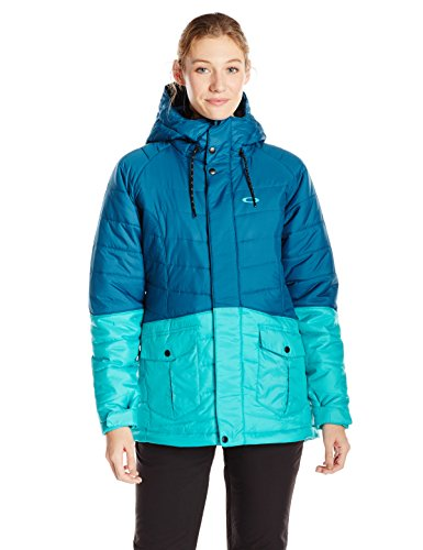 Oakley women's whiskey quilted jacket