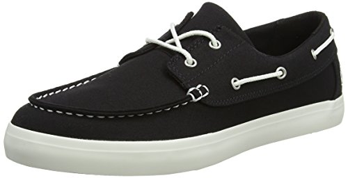 Timberland Union Wharf 2-Eye Boat Oxford Black Canvas (12 D(M) US) (Timberland 2 Eye)