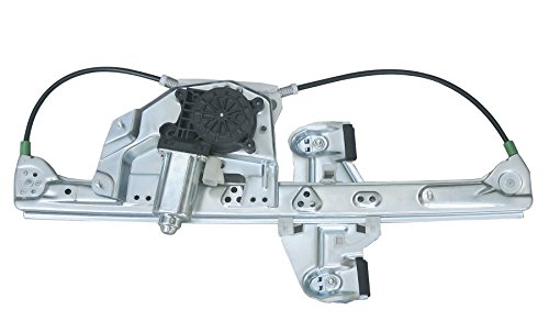 VioGi Fit Rear Passenger (Right) Side Power Window Regulator w/ Motor For 00-05 Cadillac DeVille ()