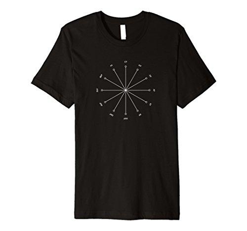 Jazz T-shirt Tritone Substitution Music Theory Shirt ()