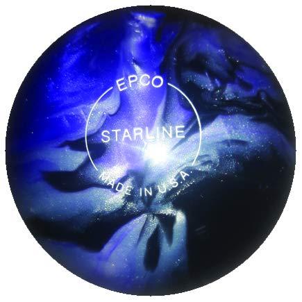 EPCO キャンドルピン ボーリングボール スターライン ラベンダー シルバー&ブラックパール シングルボール B07JJQ9MVV  4 1/2 inch- 2lbs. 6oz.