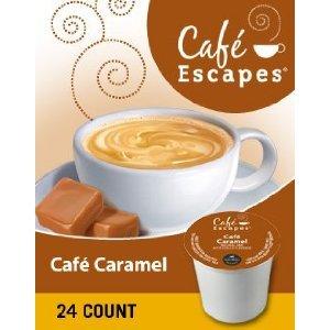 Café Escapes Café Caramel K-Cup Pack