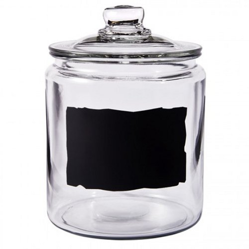 Anchor Hocking Heritage Hill 0.5 Gallon Glass Dry Good