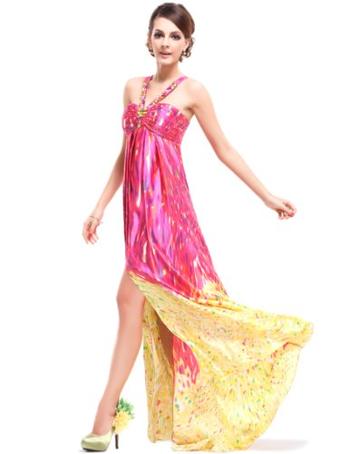 Ever-Pretty HE09743YL14 - Vestido para mujer Hot Pink