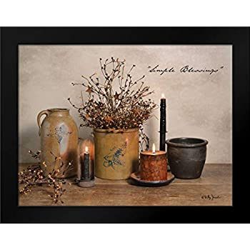 Simple Blessings Framed Art Print by Jacobs, Billy