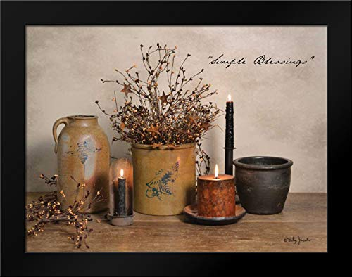 Simple Blessings 24x19 Framed Art Print by Jacobs, Billy