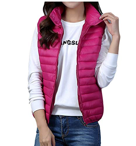 Puffer Vest Lightweight Packable 1 Jacket Down EKU Down Women's Vest IBqwRFP