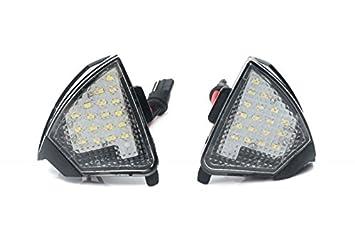 1411076 - LED entorno iluminación exterior Espejo Set: Amazon.es: Coche y moto