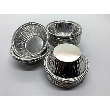 Amazon Com 2 Quot Mini Pie Pan 3 5oz Foil Utility Cup 100 Pk