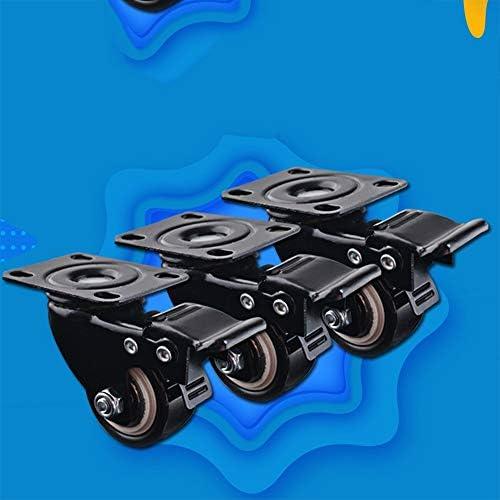 ChenCheng 家具ムーバーミュートキャスターホイール小型ヘビーキャスターキャビネット家具ムーバーダイニングカー指向性ホイールプーリー household products