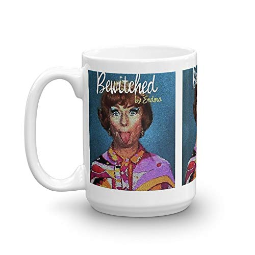 endora bewitched. 15 Oz Ceramic Coffee Mugs With C-shape Handle, Comfortable To Hold. 15 Oz Classic Coffee Mugs, C-handle And Ceramic Construction]()