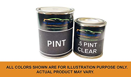 Auto Paint Depot Touch Up Paint for Mazda MX3-Creek Blue Pearl D2 (All Years, All Models) One Pint with Clear Coat -  The Auto Paint Depot, MAZDA-D2-1P-WC
