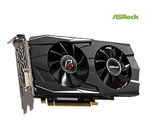 ASRock 2019 Phantom Gaming D Radeon RX 580 DirectX 12 RX580 8G OC 8GB 256-Bit GDDR5 PCI Express 3.0 x16 HDCP Ready Video Card