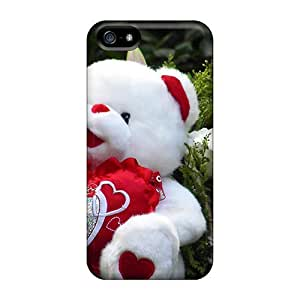 Cute Tpu WilliamMorrisNelson Lovely Teddy Bear Case Cover For Iphone 5/5s