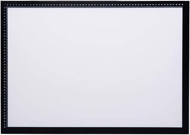JION Rastreador de Caja de luz LED A2 / A3, Cable de alimentación USB Regulable, Conjunto de Caja de luz Artcraft Tracer Light Pad, para Pintura de Diamantes, bocetos, animación (Negro): Amazon.es: