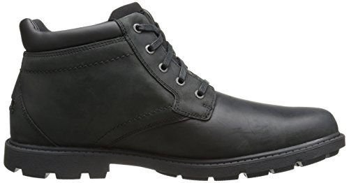 Rockport Mens Rugged Bucks Waterproof Boot- Black Waterproof