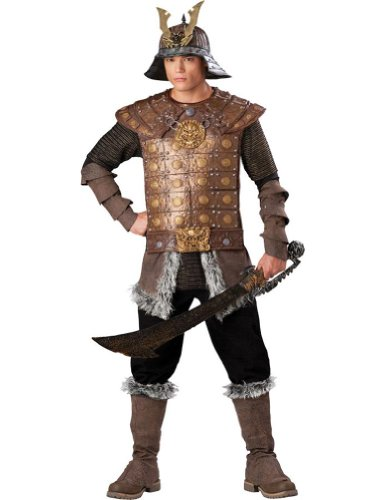 Genghis Khan Costume - X-Large - Chest Size 46-48 (Genghis Khan Costume)