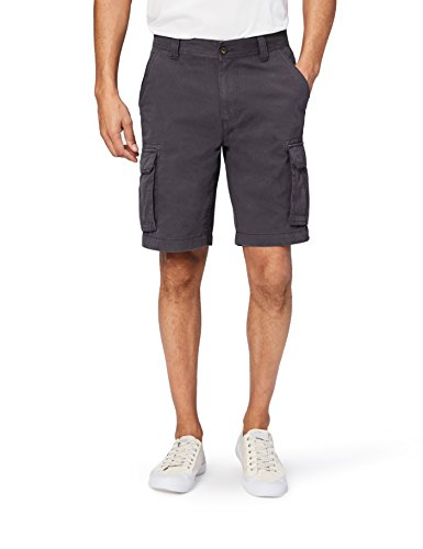 Amazon Essentials Men's Classic-Fit Cargo Short, Grey, 33 ()