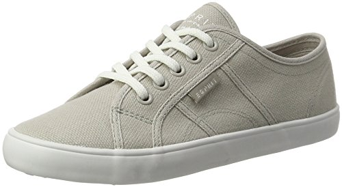 ESPRIT Italia Lace Up, Zapatillas para Mujer Gris (Light Grey 040)