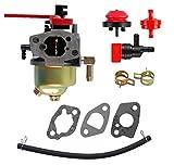 mdairc 751-12098 Carburetor with Fuel Filter Primer Bulb Kit for MTD Cub Cadet Troy Bilt 951-12098 951-14028 70-JU,370-JU-11 Series Engine Carb