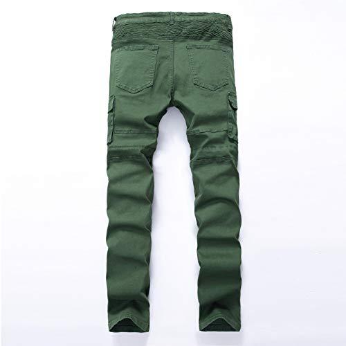 42 32 Lavoro 28 Uomo Slim Pantaloni Trosuers Denim E Stretch Cotone Da Estensibile Jeans Taglie Yedda Nahum 2 98 Casual Fit 6RwfRHq