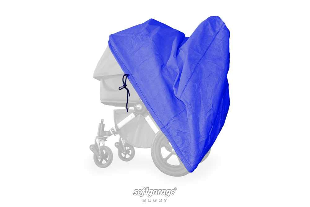 softgarage buggy softcush blau Abdeckung f/ür Kinderwagen Emmaljunga NXT60 Regenschutz Regenverdeck