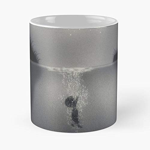 Limbo Game Dark Water - 11 Oz Coffee Mugs Unique Ceramic Novelty Cup, The Best Gift For Holidays.]()