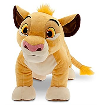 c1263290634f Disney - Simba Plush - The Lion King - Large - 18   - New with Tags by  Disney  Amazon.co.uk  Toys   Games