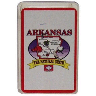 (380802 - Arkansas Playing Cards State Map 24 Display unit Case Pack 96)