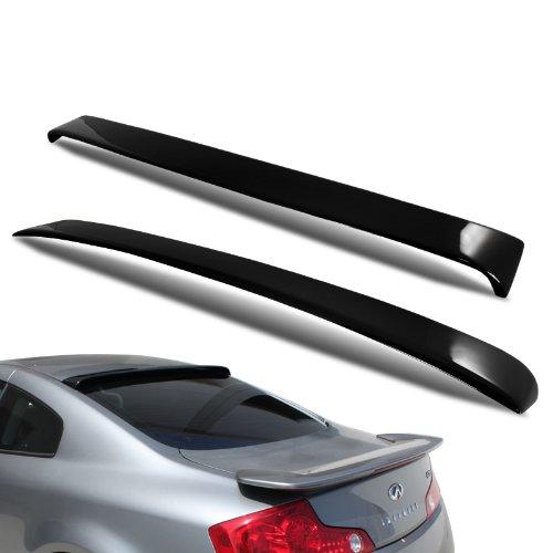 Coupe Rear Window Spoiler - 2003 - 2007 Infiniti G35 Coupe Rear Window Roof Spoiler Black