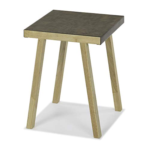 Sunset Metal Wrapped Bronze Accent Table: use as End, Side, Bedside Table – Living Bedroom Furniture Review