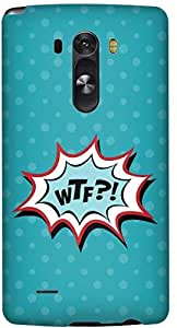 Stylizedd LG G3 Premium Slim Snap case cover Matte Finish - WTF.