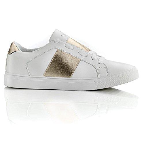Corso Da Vinci Damen Sneaker Weiß Weiß Größe 39 Eu Amazonde
