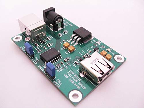 FidgetGear Low noise USB Isolator,short circuit protection, ADUM4160, Hifi, JTAG isolation from FidgetGear