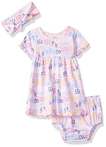 2339eef5daa4 Gerber Baby Girls 3-Piece Dress
