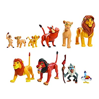 JP Lion King LNN08000 The Lion King Deluxe Figure Set, Nylon/A: Toys & Games