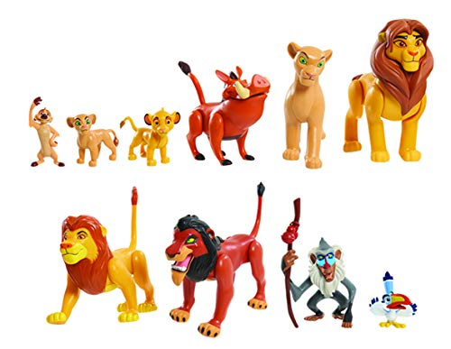 JP Lion Guard LNN08000 The Lion King Deluxe Figure Set, Nylon/A (Disney Lion King Figurines)