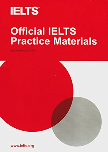 Official IELTS Practice Materials: Paperback with CD