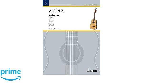 Asturias Guitare: Amazon.es: Isaac Albeniz: Libros en idiomas ...